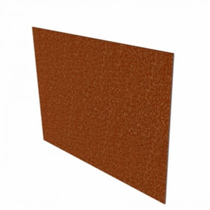 Corten-Stahl Einfassung 10 Stück 2300x2x100 mm