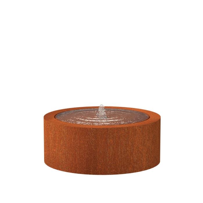 Wassertisch Rund CBR6 (1 fountain + LED) 1000x400mm