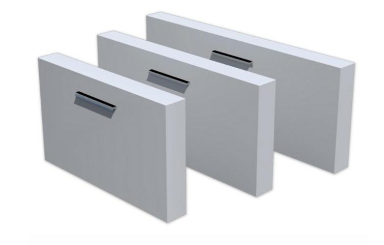 TeichMauern freistehend Aluminium