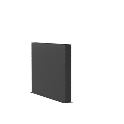 Aluminiumwände Länge 2m (weitere Größen)