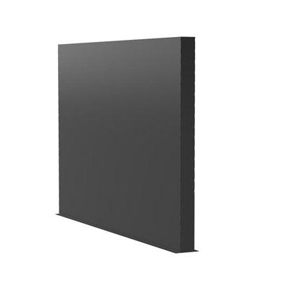 Aluminiumwände Länge 3m (weitere Größen)