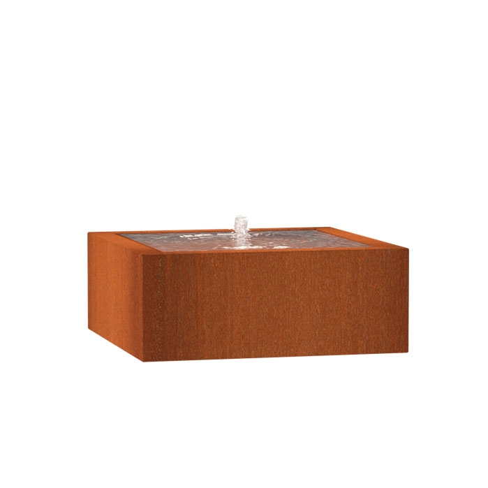 Wassertisch CB12 (1 fountain + LED) 1000x1000x400mm