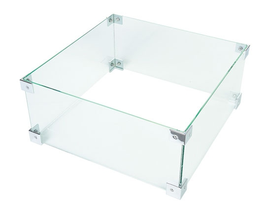 GLASSCHIRM COCOON TABLE QU. KLEIN