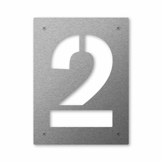 Hausnummer Cut 2