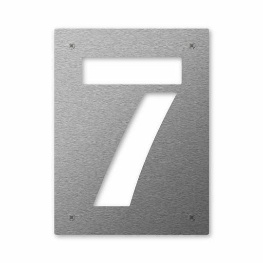 Hausnummer Cut 7
