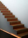 Cortenstahl Treppe 8 Stufen(Weitere Größen)