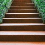 Cortenstahl Treppe 16 Stufen(Weitere Größen)