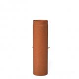 Ofenrohr Steel 2mm BAC4.200 Flue + Valve 204x1000mm Steel 2mm