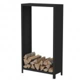 Holzlager mit schwarzer Beschichtung BHG1 1000x400x1800mm