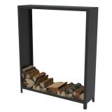 Holzlager mit schwarzer Beschichtung BHG1.2 1500x400x1800mm