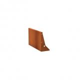 Stützmauern aus Cortenstahl 1000x50x600 mm