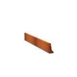 Stützmauern aus Cortenstahl 2000x50x300 mm