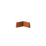 Stützmauer Innenecke aus Cortenstahl 500x500x300 mm