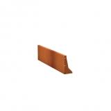 Stützmauern aus Cortenstahl 1500x50x400 mm