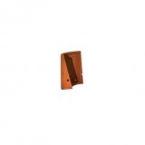 Stützmauer Außenbogen aus Cortenstahl 500x500x600 mm