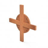 Querverbindung Bunke BBS cross 140x140x10mm