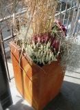 Pflanzgefäß K500 - Cortenstahl
